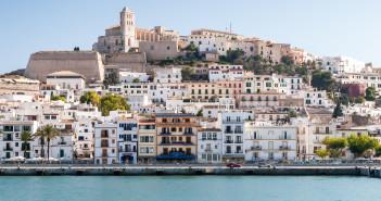 Blick auf Eivissa - Hauptstadt von Ibiza